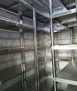 酒店厨房不锈钢货架