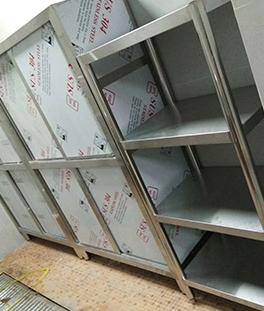 济南厨房不锈钢货架