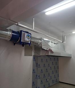 铁皮厨房排烟罩