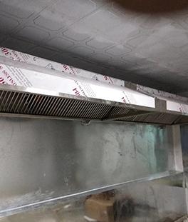 酒店厨房不锈钢排烟罩